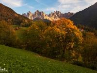 Autunno in Val di Funes