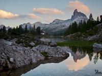 Lago Federa e Becco di Mezzodì