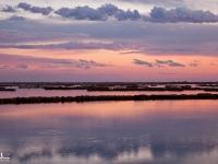 Tramonto dipinto sulla Laguna Veneta
