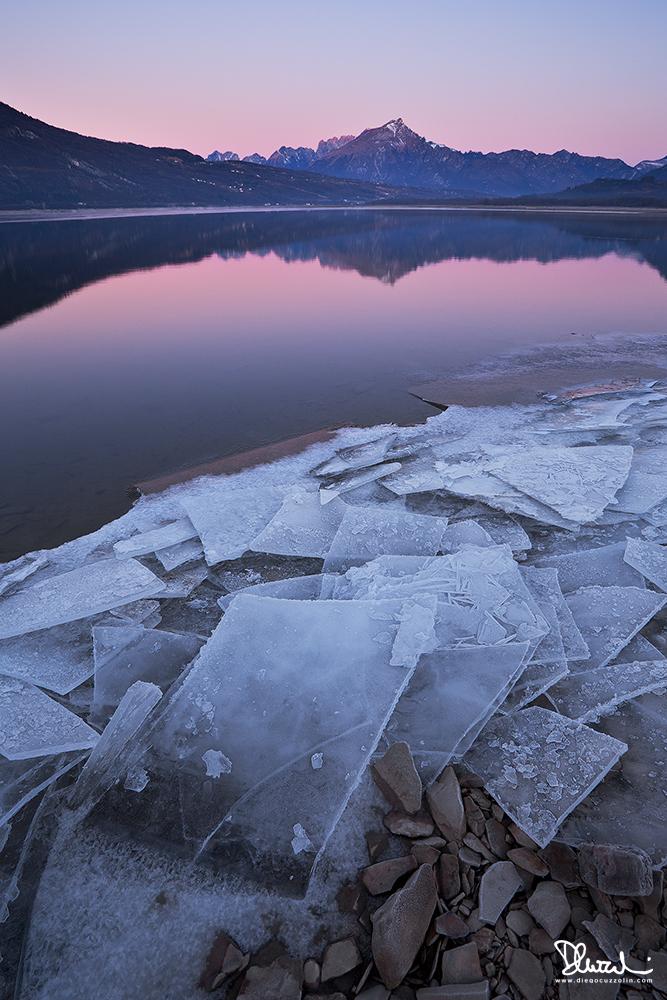Inverno al Lago di Santa Croce