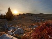 Primo sole sulle Prealpi Bellunesi