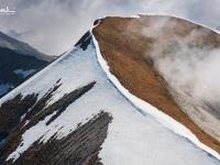 Il Col di Luna, visto dal Monte Pavione