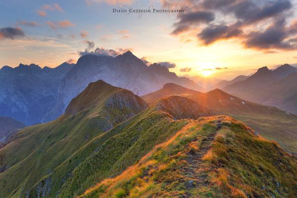 Un sentierino sulla cresta se utilizzato bene può offrire una chiave di lettura della foto