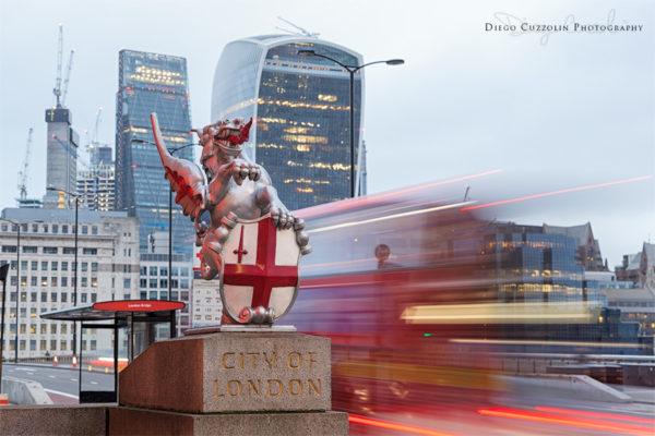 L'ingresso alla City dal London Bridge