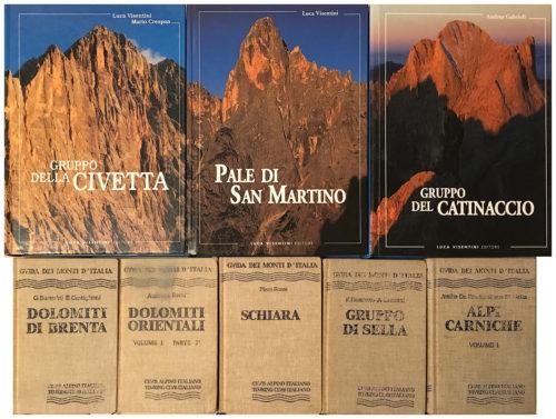 Alcuni dei libri che mi hanno aiutato nella mia formazione di fotografo di montagna