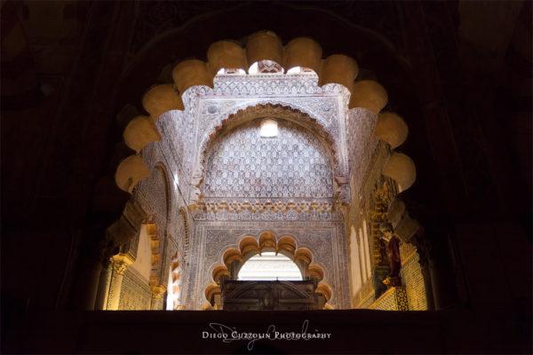 Gli archi  e le decorazioni della Capilla Real (Cappella Reale)