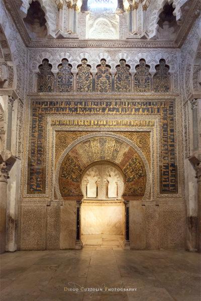 Il Mhirab all'interno della  Mezquita
